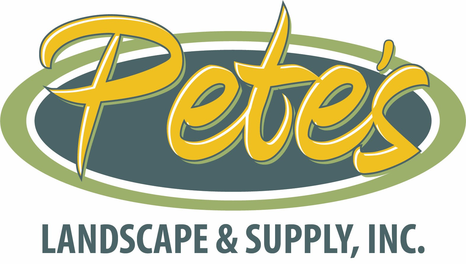 Company logo for 'Pete's Landscaping & Supply'.