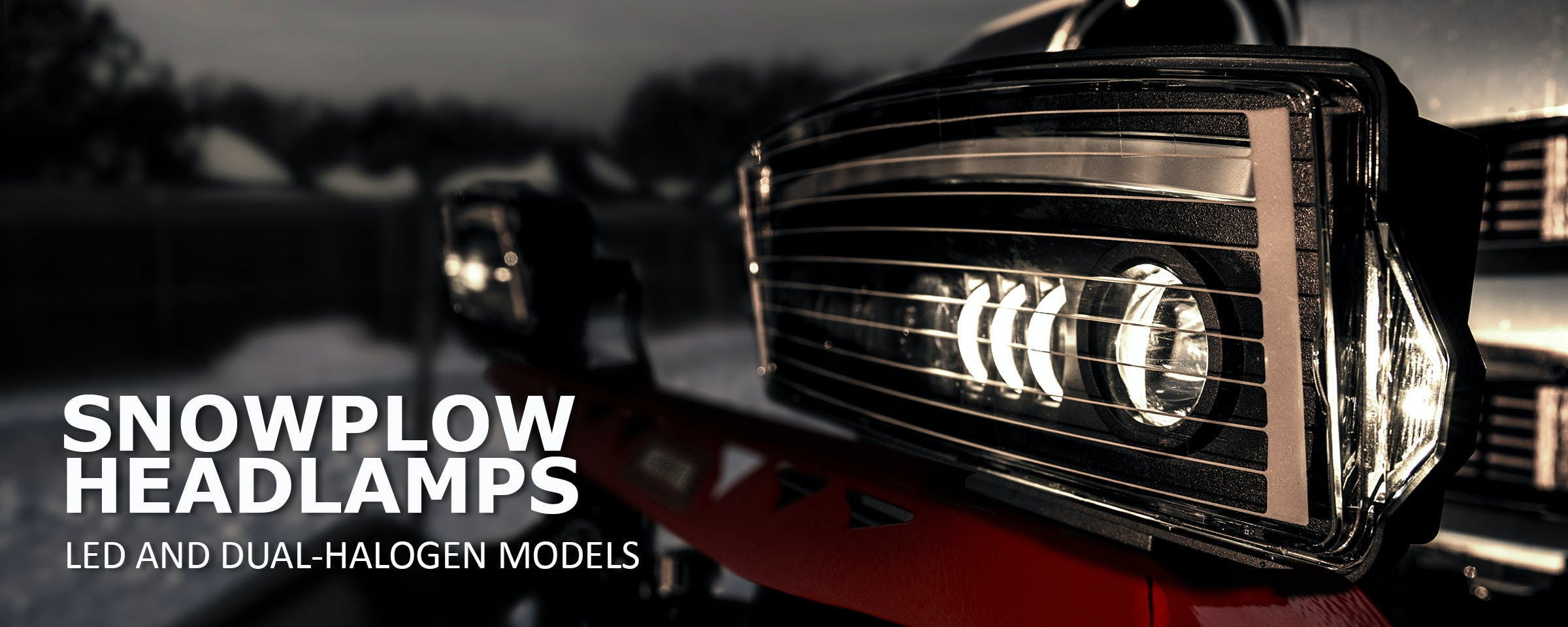 WESTERN Snowplow Headlamps