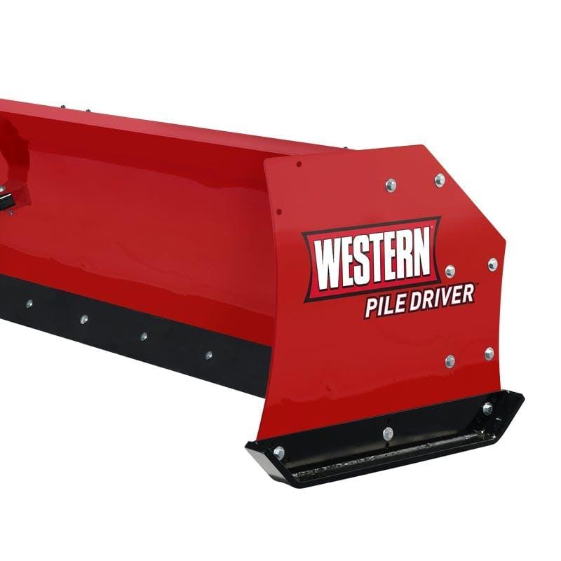 PILE DRIVER ™ - Steel Edge Snowplow