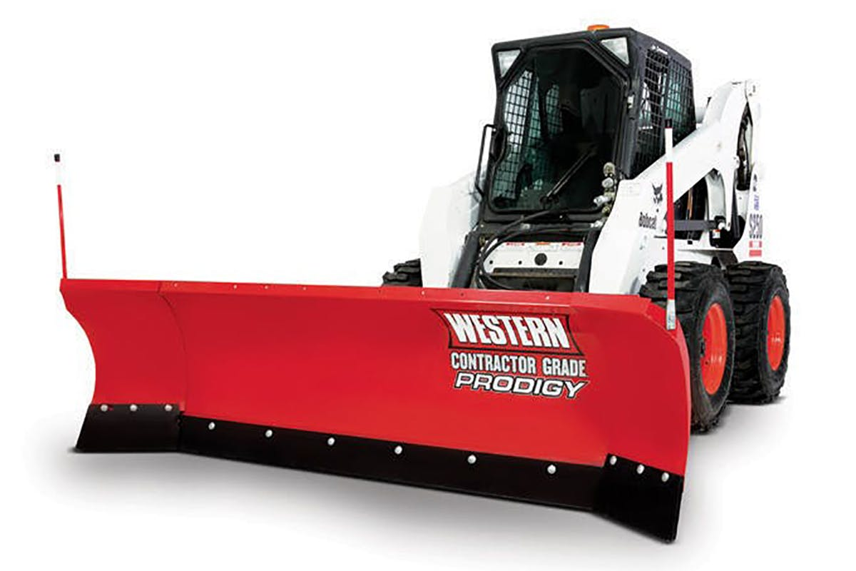 PRODIGY™ & PRO PLUS® Snowplows for Skid-Steers