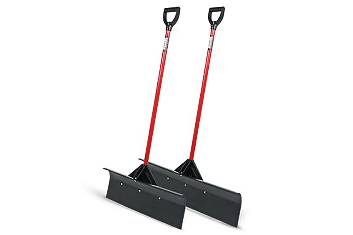 Heavy-Duty Pusher Shovel