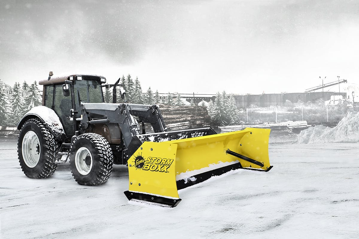 STORM BOXX™ Steel Edge Snow Plow