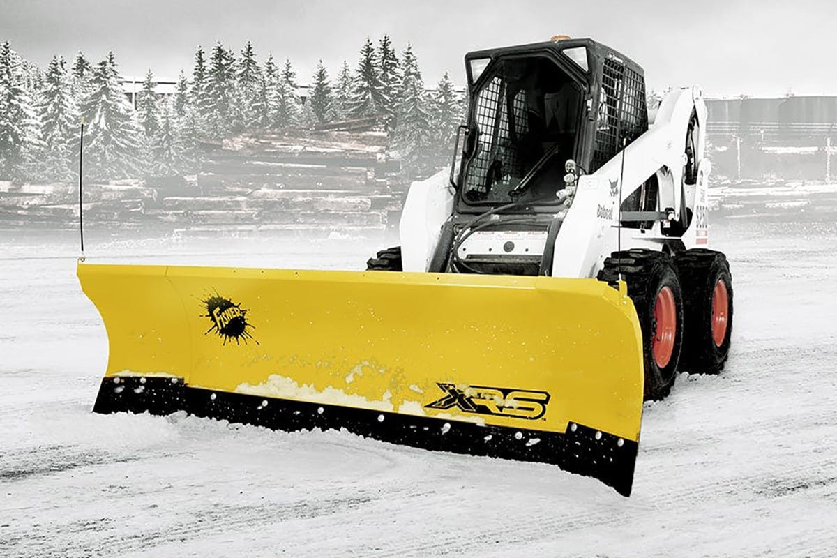 Skid-Steer Snow Plows