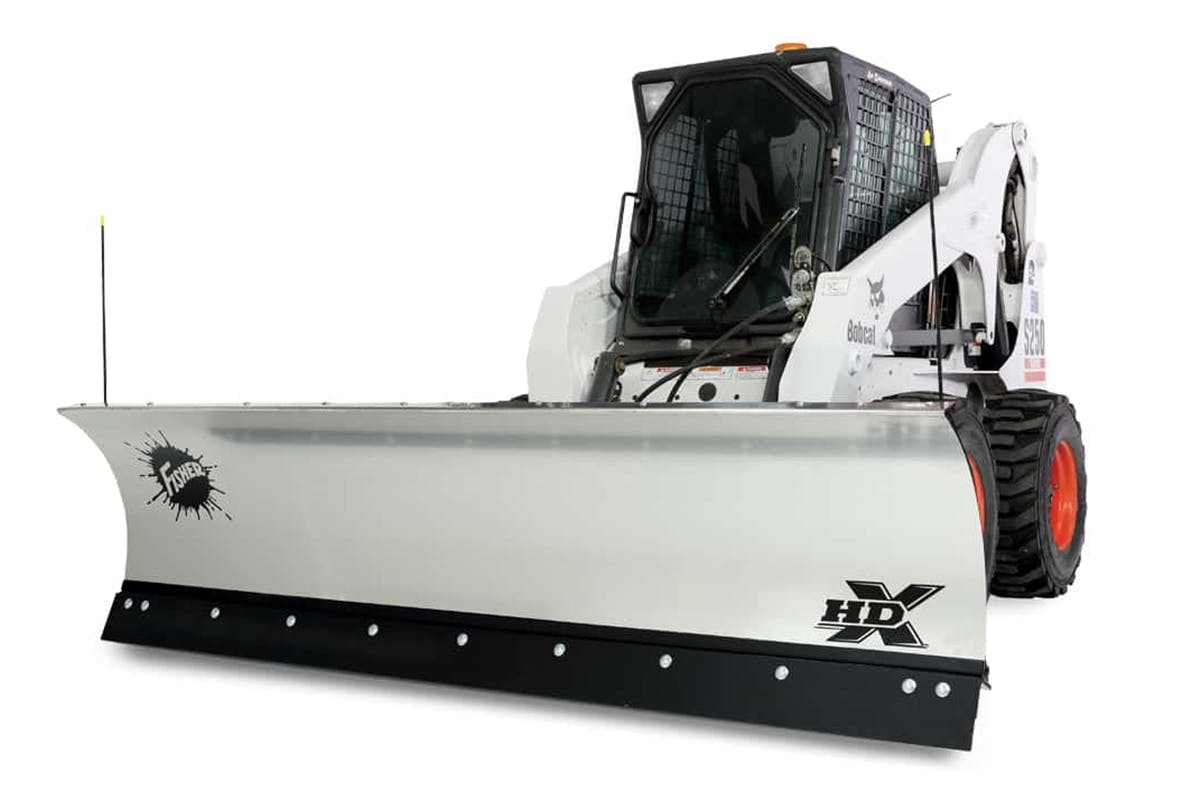 Skid-Steer Snow Plows - HDX