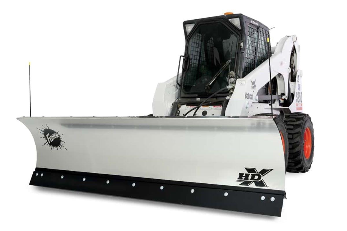 Skid-Steer Plow - HDX
