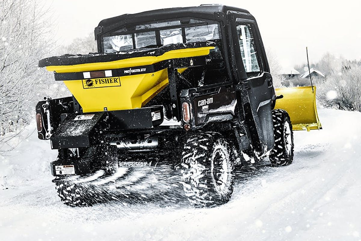 POLY-CASTER™ UTV Spreader