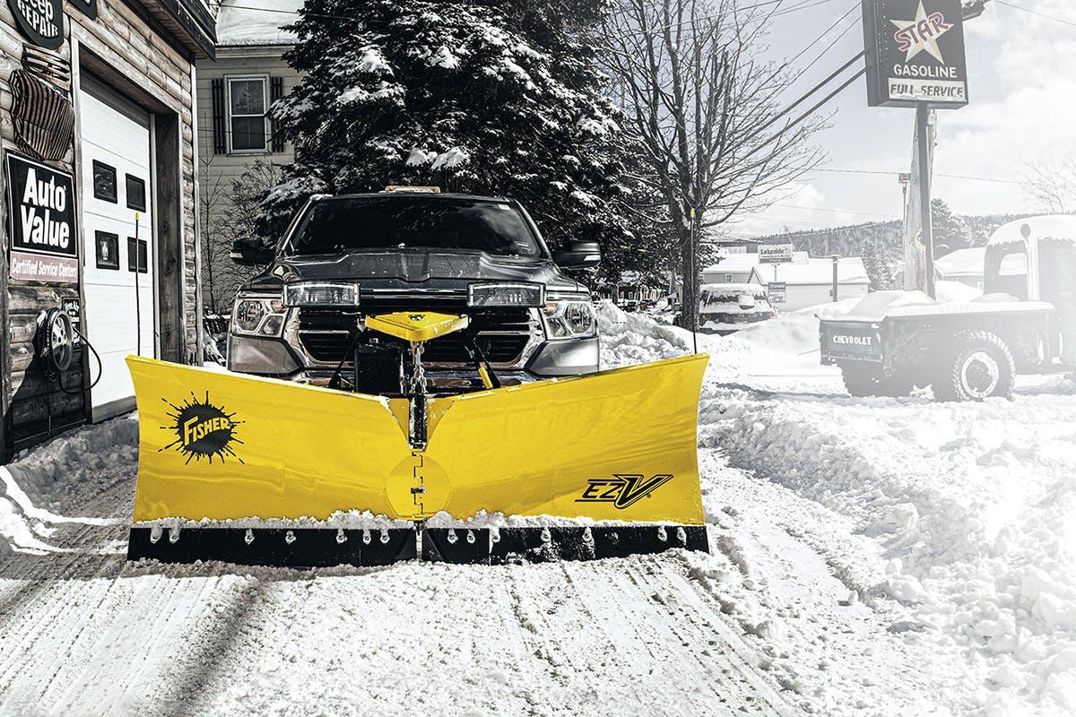 EZ-V® Snowplow