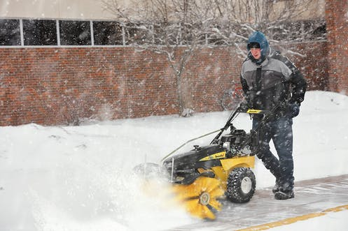 Sidewalk Safety During Snow Removal Services