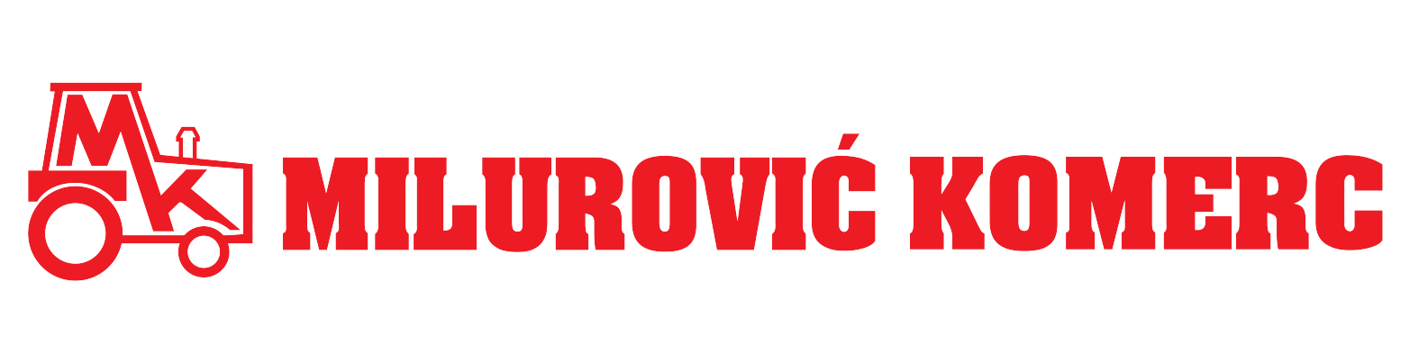 Company logo for 'Milurovic Komerc'.