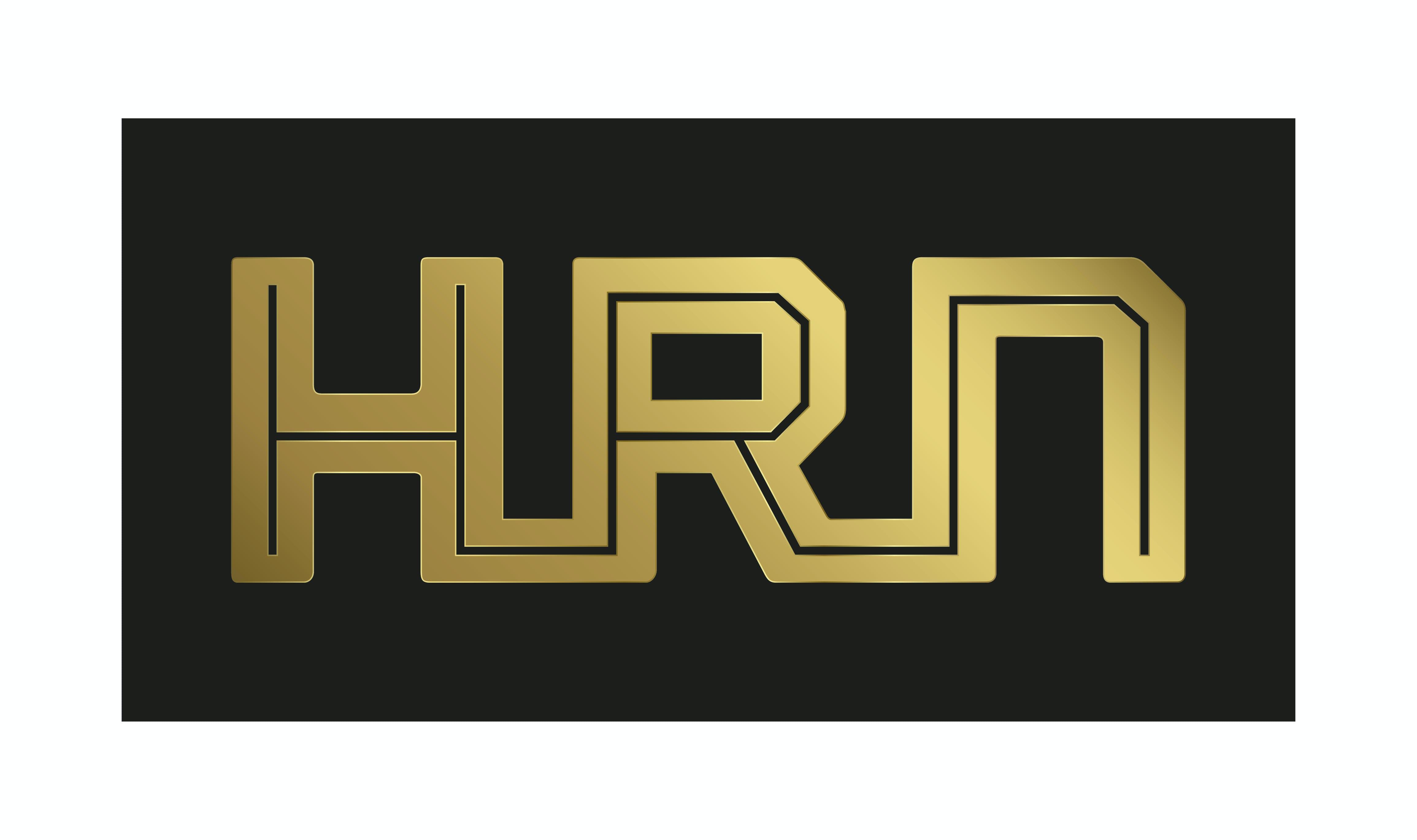 Company logo for 'HRN'.