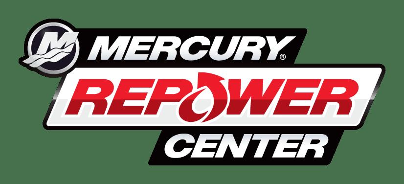 Company logo for 'Mercury Marine'.