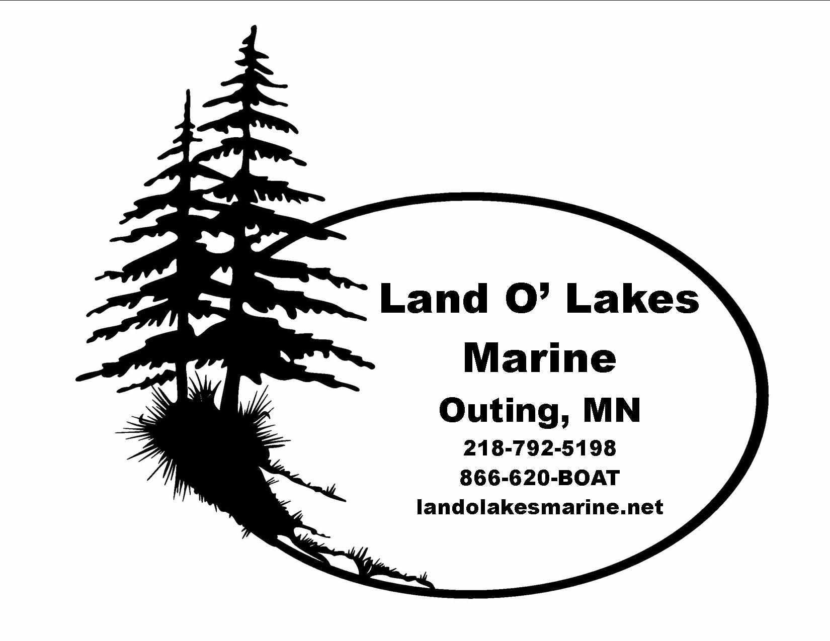 Company logo for 'Land O'Lakes Marine'.
