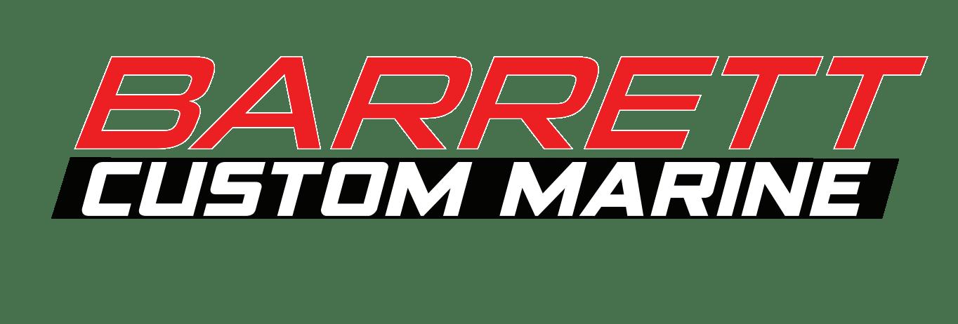 Company logo for 'Barrett Custom Marine'.