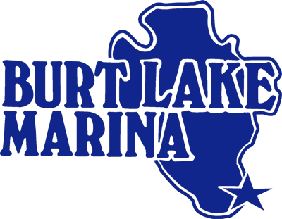 Company logo for 'Burt Lake Marina - Indian River'.