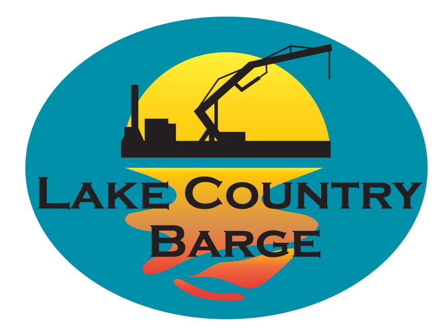 Company logo for 'Lake Country Barge - Pewaukee'.