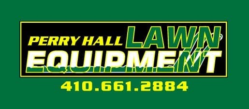 Company logo for 'Perry Hall Lawn Equipment'.