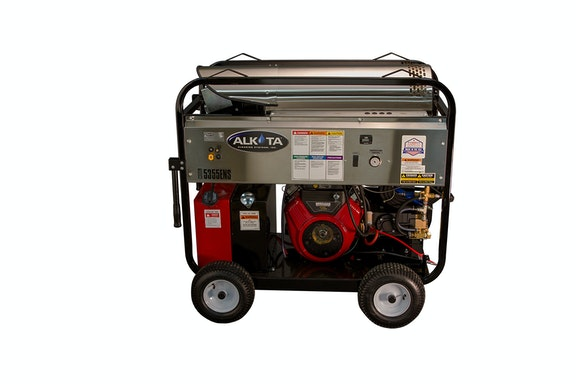 Pressure Washer Hot Water Narrow Frame 5355ens Alkota For