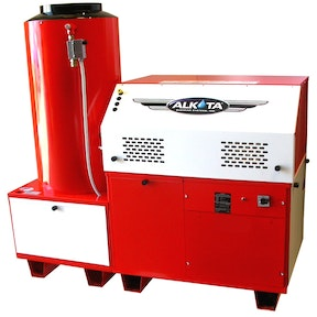 Gas Fired Hot Water Pressure Washer   Alkota Cleaning Systems Products