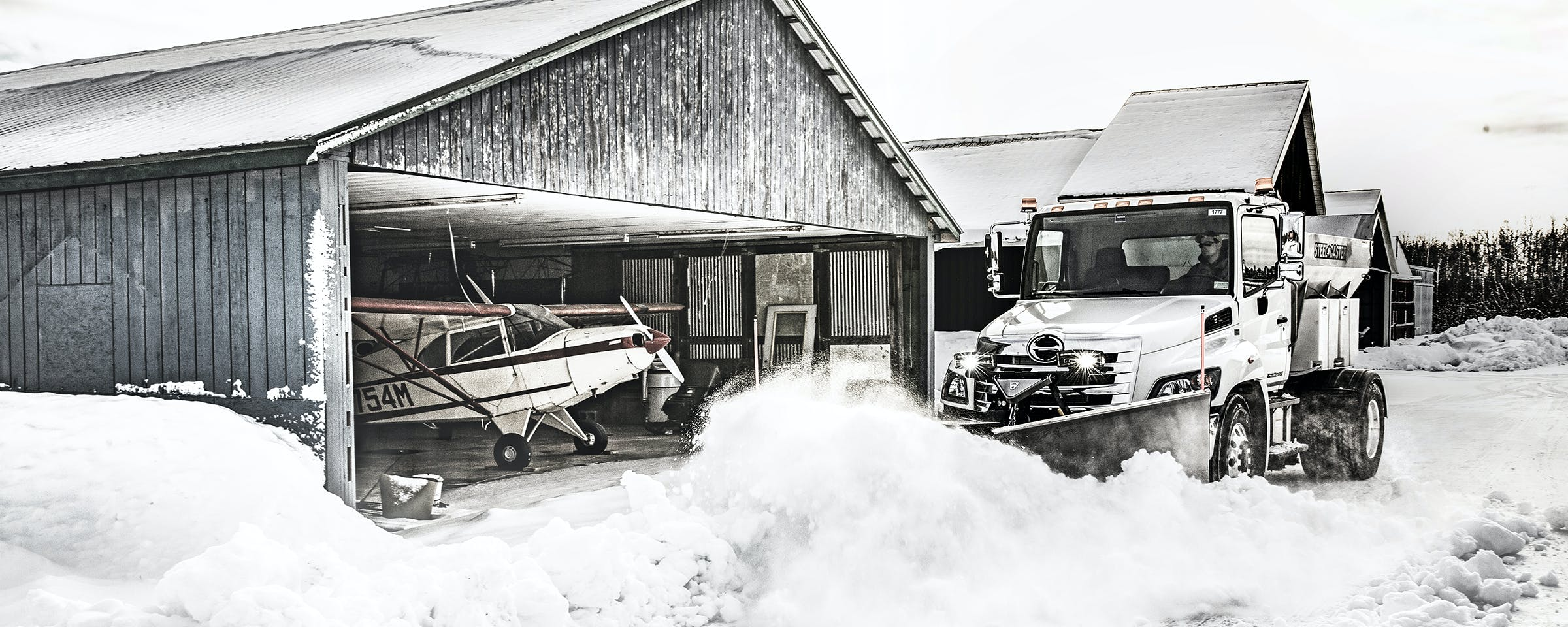 Whether you're a homeowner, property manager or snow contractor, FISHER offers a full line of high-quality snowplows to help you succeed: straight blades, v-plows, winged plows, and even plows for UTVs and compact equipment.