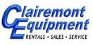 Company logo for 'Clairemont Equipment'.