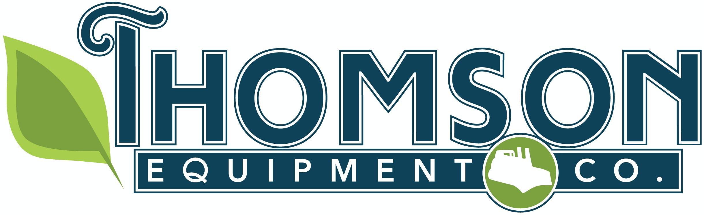 Company logo for 'Thomson Equipment'.