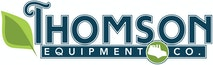 Company logo for 'Thomson Equipment'.