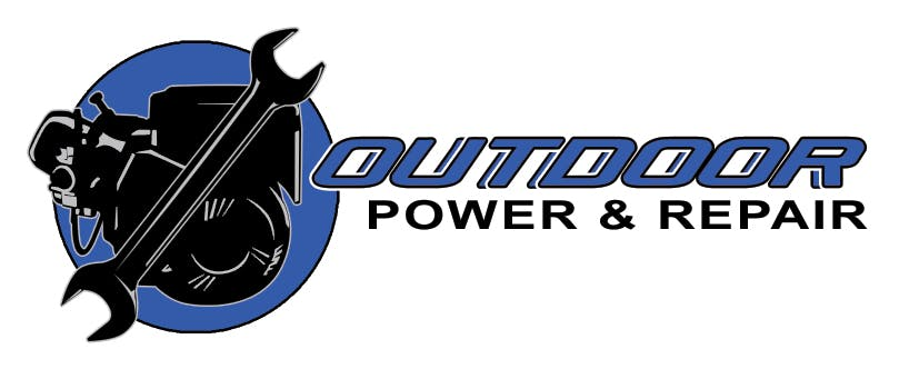 Company logo for 'Outdoor Power & Repair'.