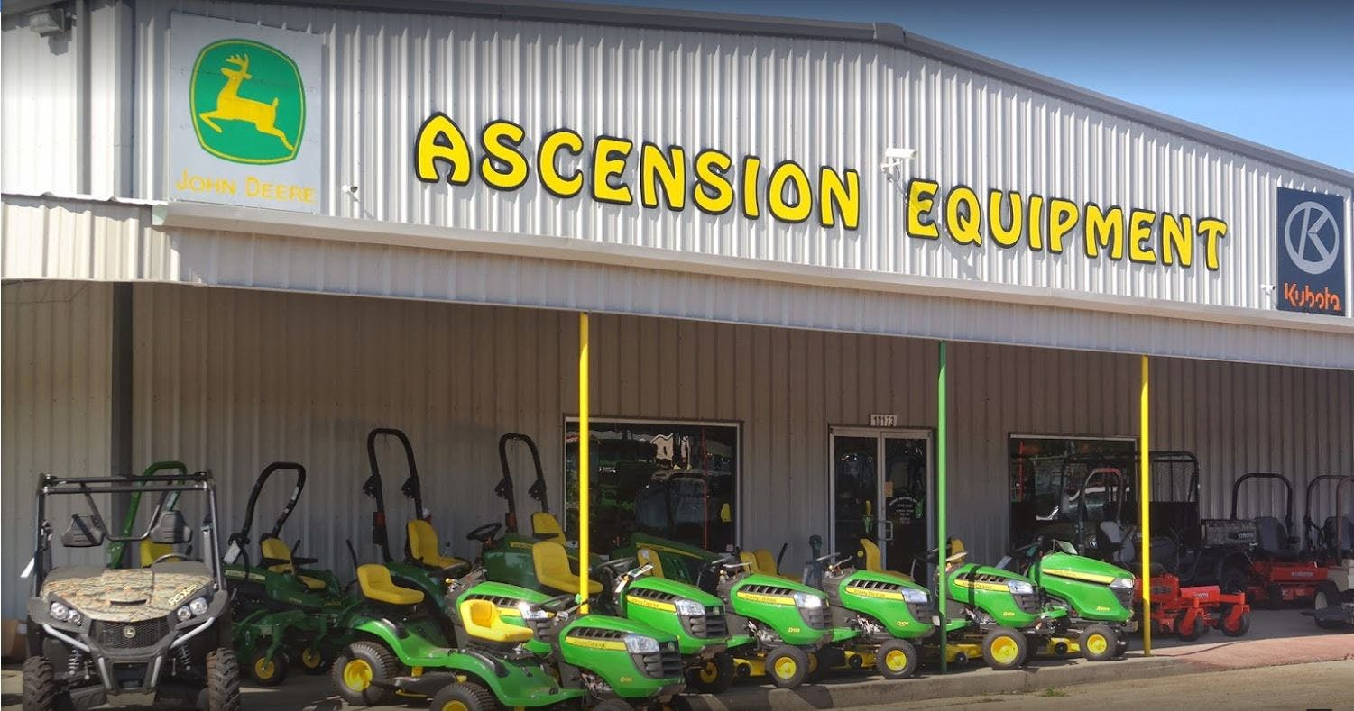 ascension equipment grasshopper dealer in gonzales la. Black Bedroom Furniture Sets. Home Design Ideas
