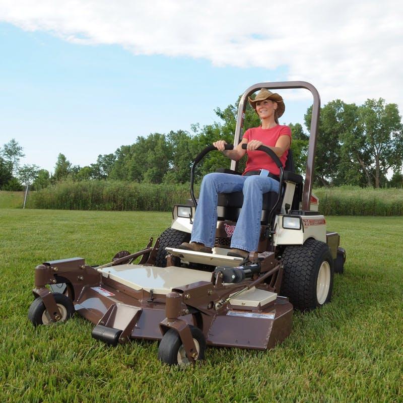 721dt zero-turn diesel lawn mower