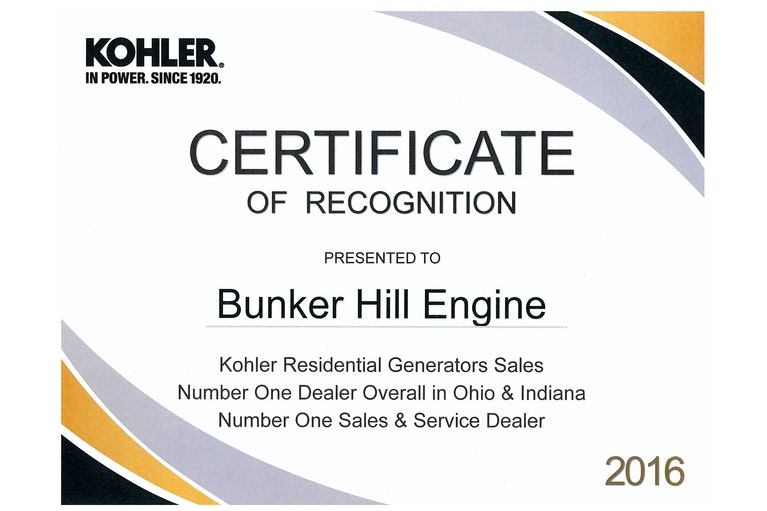 About Bunker Hill Engine | Kohler Generator Dealer in Millersburg ...