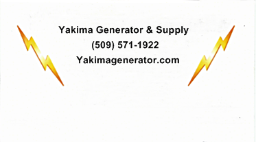 Yakima Generator & Supply LLC Logo