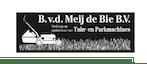 Company logo for 'B. VAN DER MEIJ DE BIE BV'.
