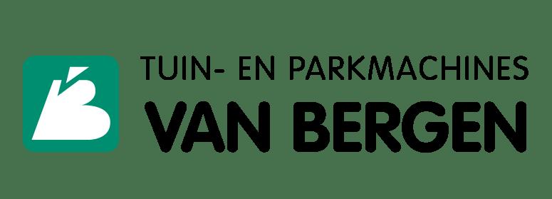 Company logo for 'VAN BERGEN TUIN-EN PARKMACHINES'.