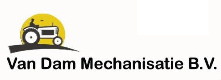 Company logo for 'VAN DAM MECHANISATIE'.