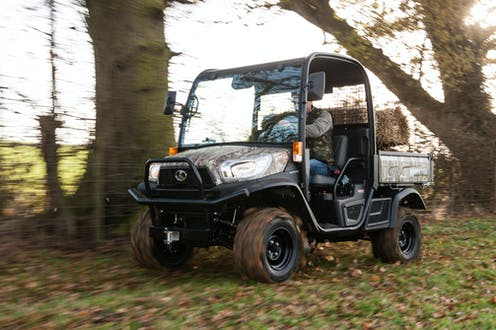 RTV-X1110 Kubota utility vehicle