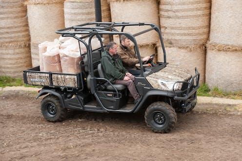 RTV-X1140 Kubota utility vehicle