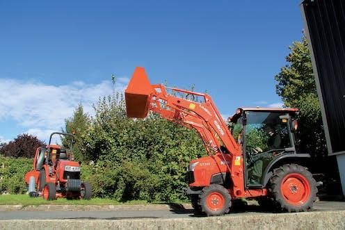 ST341 Kubota compact tractor