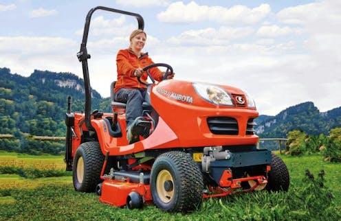 GR1600-II Kubota mower