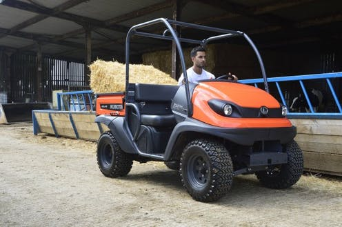 RTV400CI Kubota utility vehicle