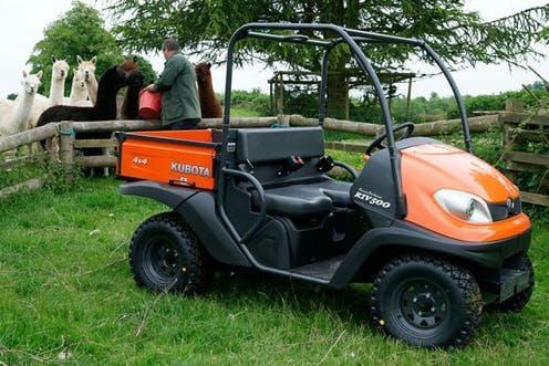 RTV500 Kubota utility vehicle