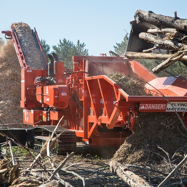 4600XL Wood Hog Horizontal Grinder