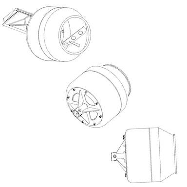Cement Bowl: 4.8 f3 (max) / 3.2 f3 (mix)