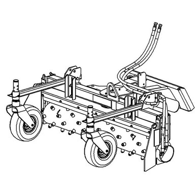 48 in Harley Power Box Rake – Hydraulic Angling