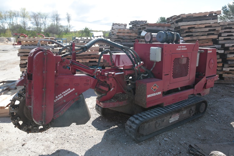 Used 2012 Morbark D-86 Track Stump Grinder