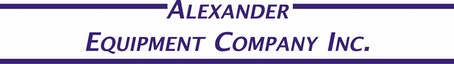 Company logo for 'Alexander Equipment Company - Lisle'.