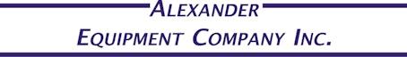 Company logo for 'Alexander Equipment Company - Lisle'.