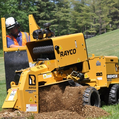 RG45X Super Jr Stump Cutter