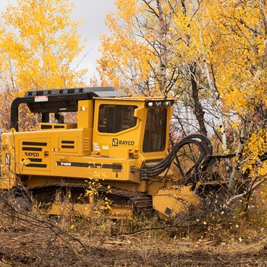 T415 Forestry Mulcher & Hydra-Stumper
