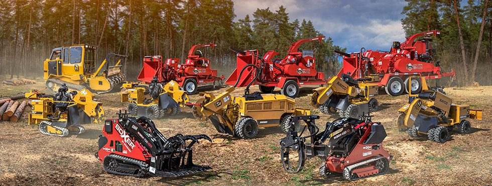 Morbark Debuts All-New Chippers, Rayco Mulcher & Aerial Trimmer
