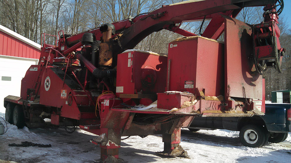 Used 50/48 WCL Drum Chipper